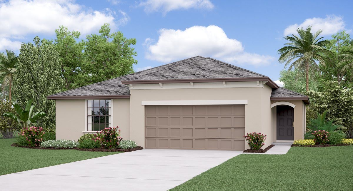 You are currently viewing The Harrisburg Model Tour Triple Creek Lennar Homes Riverview Florida