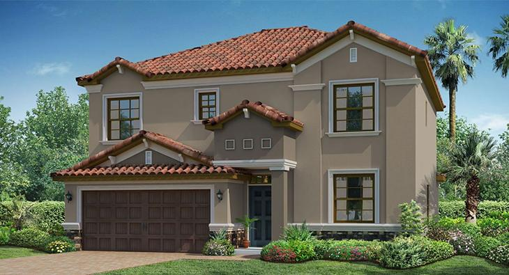 The Monaco Model Tour  Lennar Homes Tampa Florida