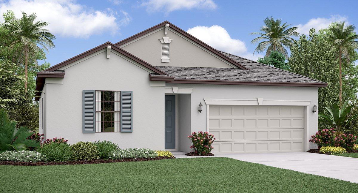 The North Carolina Model Tour  Lennar Homes Crest Lakes Riverview Florida