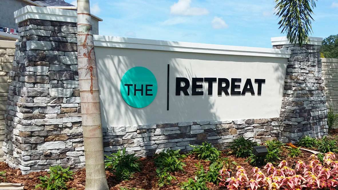 The Retreat New Town Home Community Brandon Florida