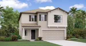 Cypress Mill  Lennar Homes The Concord Model Tour Sun City Center Florida