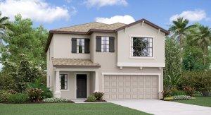 The Concord Model Tour Creek Preserve Lennar Homes Wimauma Florida