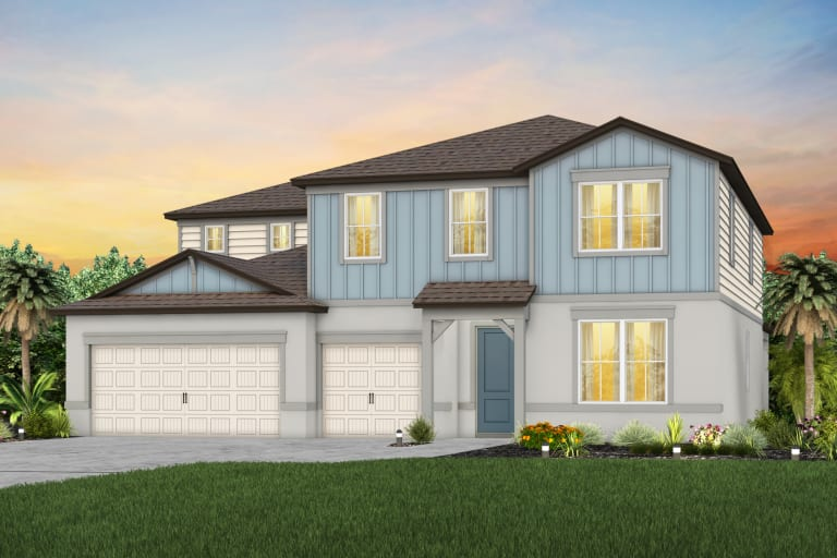Read more about the article The  Oakhurst  Model Tour Hammock Crest Pulte Homes Riverview Florida