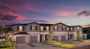 The Glenmoor Model Tour Townes At Summerfield Creek Lennar Homes Riverview Florida