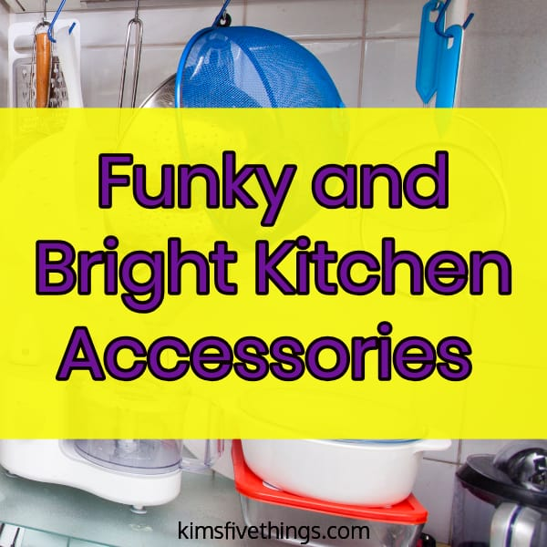 Funky Kitchen Accessories Bright Colored Kitchen Accessories October 2020 Kims Home Ideas