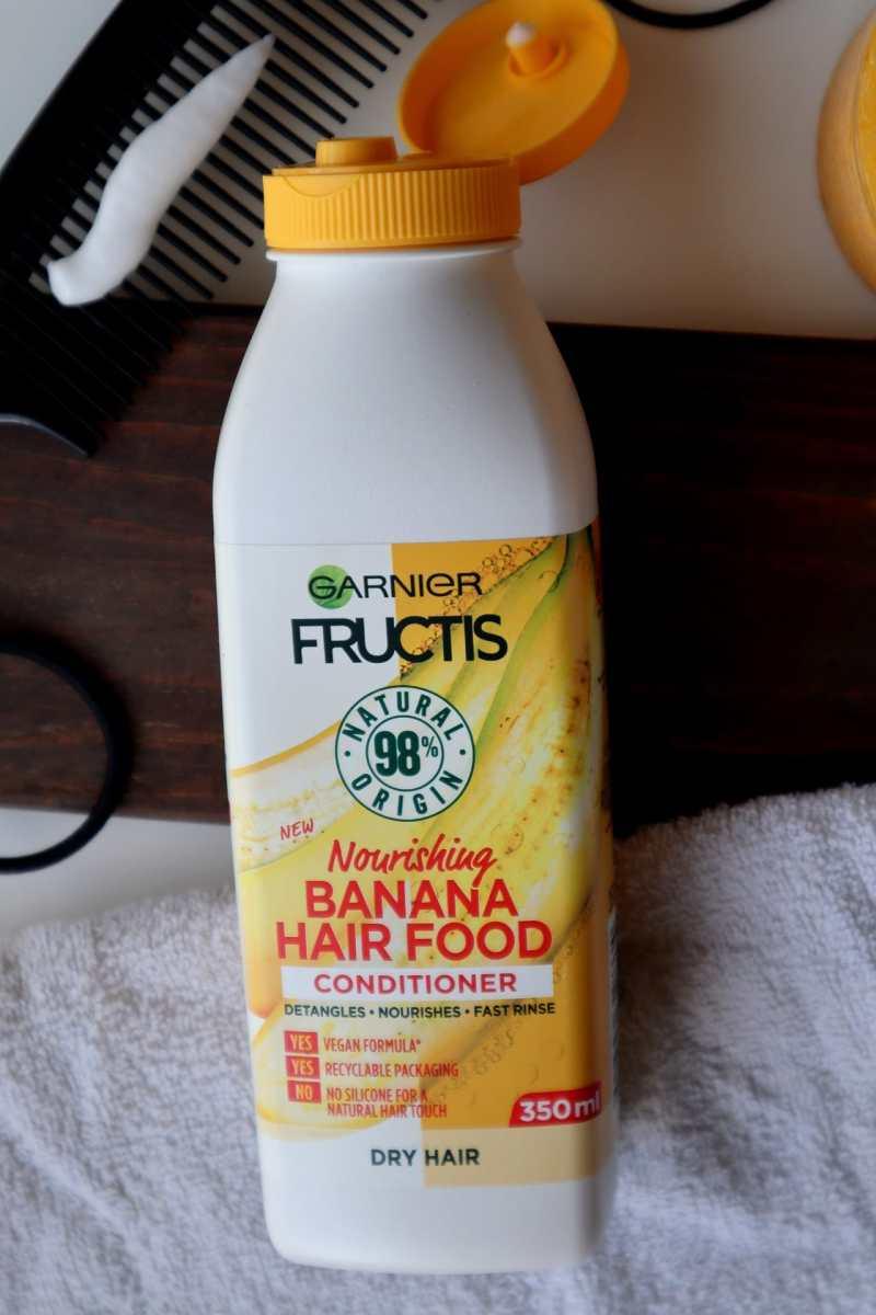 Banana hair food