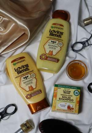 Garnier Loving Blends honing goud review