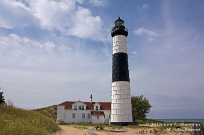 Big Sable Lighthouse Michigan