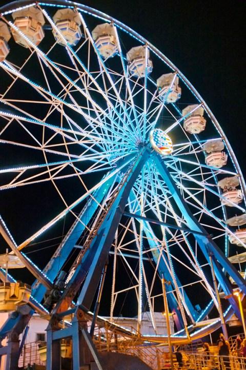 Ferris Wheel Gloucester St. Peter's Fiesta Fujifilm x100
