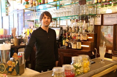 Jeff at Juliette Restaurant Brooklyn -2 ©Kim Smith 2013