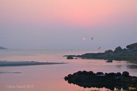 Good Harbor Beach Sunrise ©Kim Smith 2013