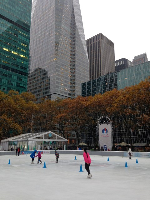 Bruant park ice skating ©Kim Smith 2013