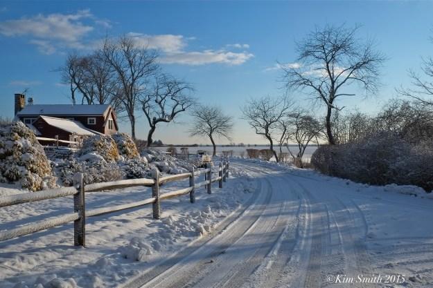 Niles Pond Snow ©Kim Smith 2015