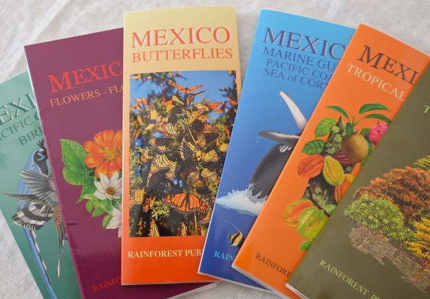 Rain Forest Publications Butterfies of Mexico Guide Kim Smith cover photo ©Kim Smith 2015