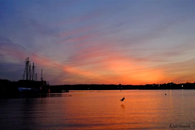 Gloucester Harbor sunset Kim Smith