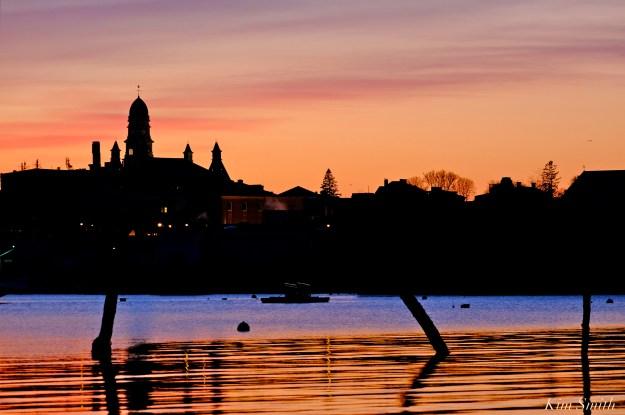 Gloucester sunset City Hall Kim Smith