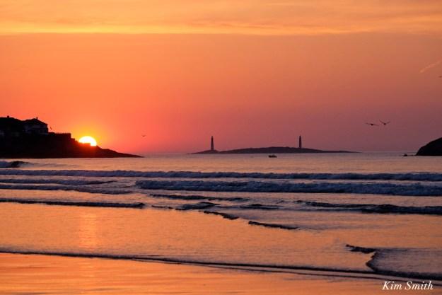 Good Harbor Beach Sunrise Gloucester -2 copyright Kim Smith
