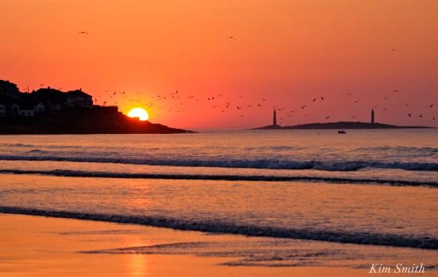 Good Harbor Beach Sunrise Gloucester copyright Kim Smith