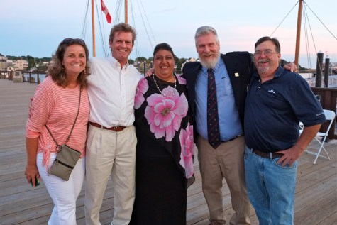 Schooner Festival Mayor Sefatia Rome Theken Reception 2018 copyright Kim Smith - 39
