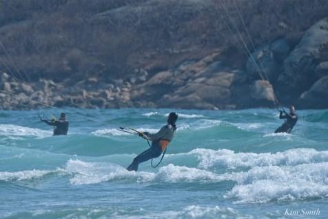 Kitesurfing Good Harbor Beach Gloucester copyright Kim Smith - 12