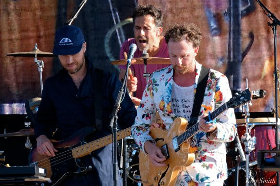 Guster Ryan Miller Luke Reynolds Brian Worcel Riverfest Seaside Music Festival Gloucester copyright Kim Smith Gloucester - 16