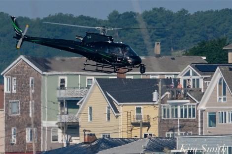KRaken Fishing Boat Helicopter Filming Gloucester Harbor copyright Kim Smith - 08