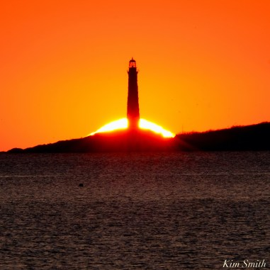 Thacher Island Twin Lights Lighthouses Sunrise copyright Kim Smith - 1 of 5