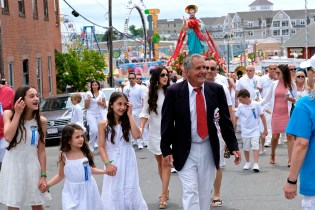 Saint Peter's Fiesta Sunday Procession 2019 copyright Kim Smith - 06