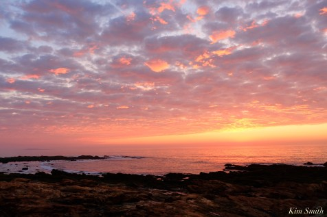 Sunrise Back Shore Gloucester MA October 2 copyright Kim Smith - 2 of 9