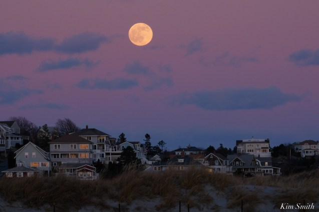December Full Wolf Moon Good Harbor Beach Gloucester Essex County copyright Kim Smith - 15 of 23