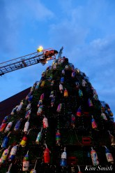 Lobster Trap Tree Lighting 2020 Gloucester Essex County Massachiusetts copyright Kim Smith - 12 of 16