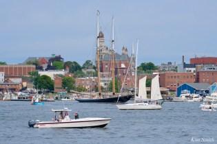 Schooner Parade of Sail Columbia Gloucester 2021 copyright kim Smith - 4 of 6
