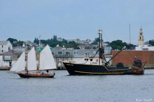 Schooner Parade of Sail Gloucester Redbird 2021 copyright kim Smith - 8 of 52