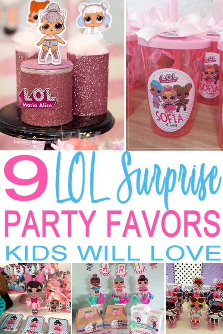 Lol Surprise Party Favors