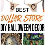Diy Dollar Store Halloween Decorations Ideas Hacks Cheap Easy Outdoor Indoor Diy Halloween Crafts