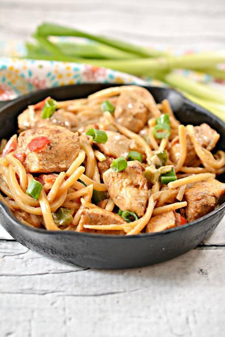 BEST Keto Chicken Recipe - Low Carb Keto Pasta Mexican ...