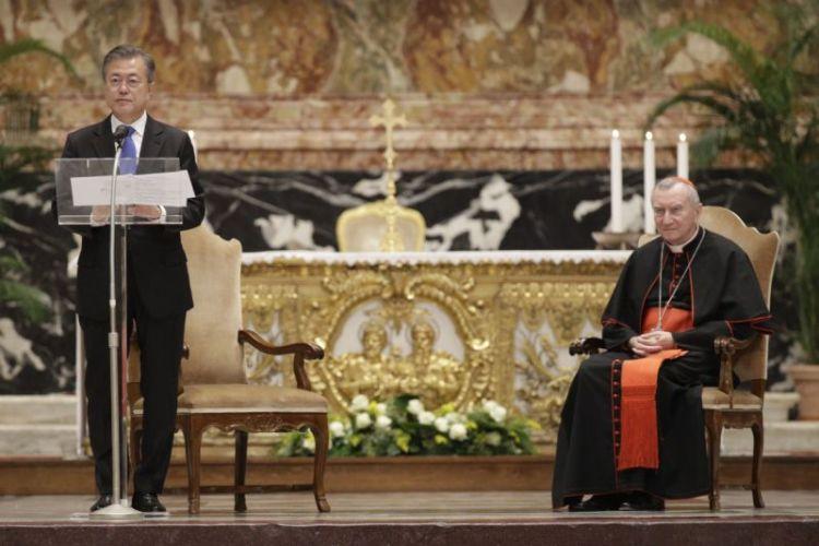 문재인 한반도평화미사2 문 대통령 바티칸 교황청 연설전문   한반도 평화미사