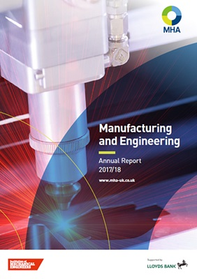 Accountancy marketing case study – Manufacturing and engineering benchmarking thought leadership at MHA