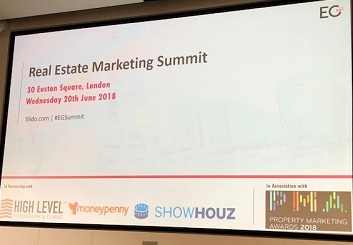 Property marketing case study – Key points from the EG property marketing conference 2018