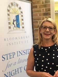 Kim Tasso Better Business Relationships at the Bedford Square Festival