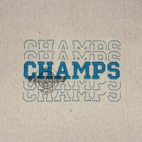 Breakout Champs - Embroidery Design