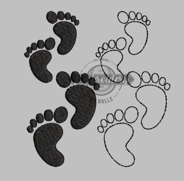 Baby Feet Footprints