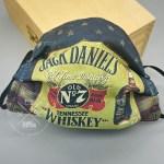 Jack Daniel's Whiskey Custom Face Mask
