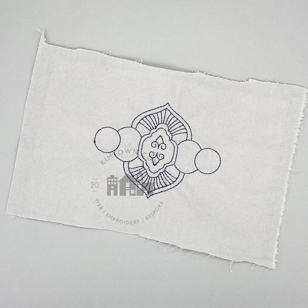 Art Deco Linework Machine Embroidery Design