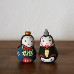 雛土鈴(2個組) Claybell of Hina doll (Two sets)