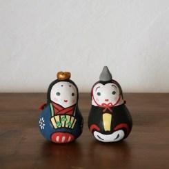 雛土鈴(2個組) Claybell of Hina doll (Two sets)