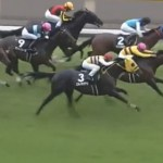 木村牧場育成馬ピースワンパラディ、1番人気に応えて準OP特別勝ち!