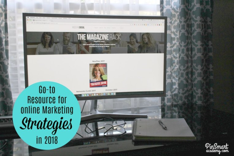 Resources for Online Marketing Strateiges in 2018 with Modern Social Magazine
