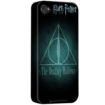 The Deathly Hallows iPhone Case