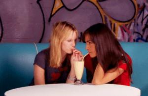milkshake scene from DEBS